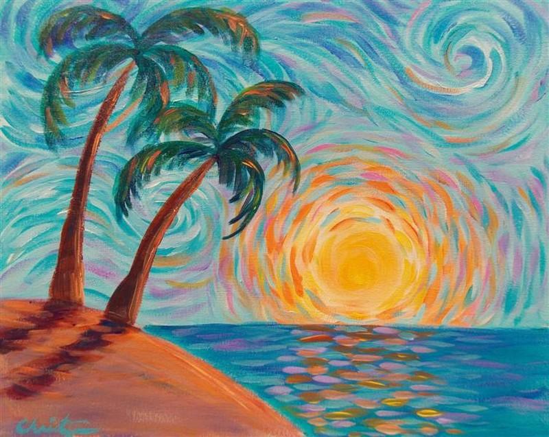 Starry Sunrise | IN-STUDIO CLASS