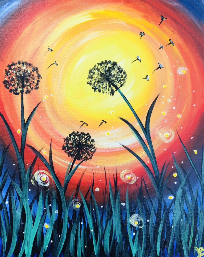 NEW - SUMMER DANDELIONS