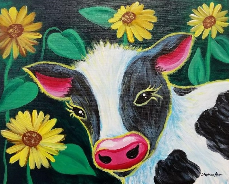 Sunflower the Cow