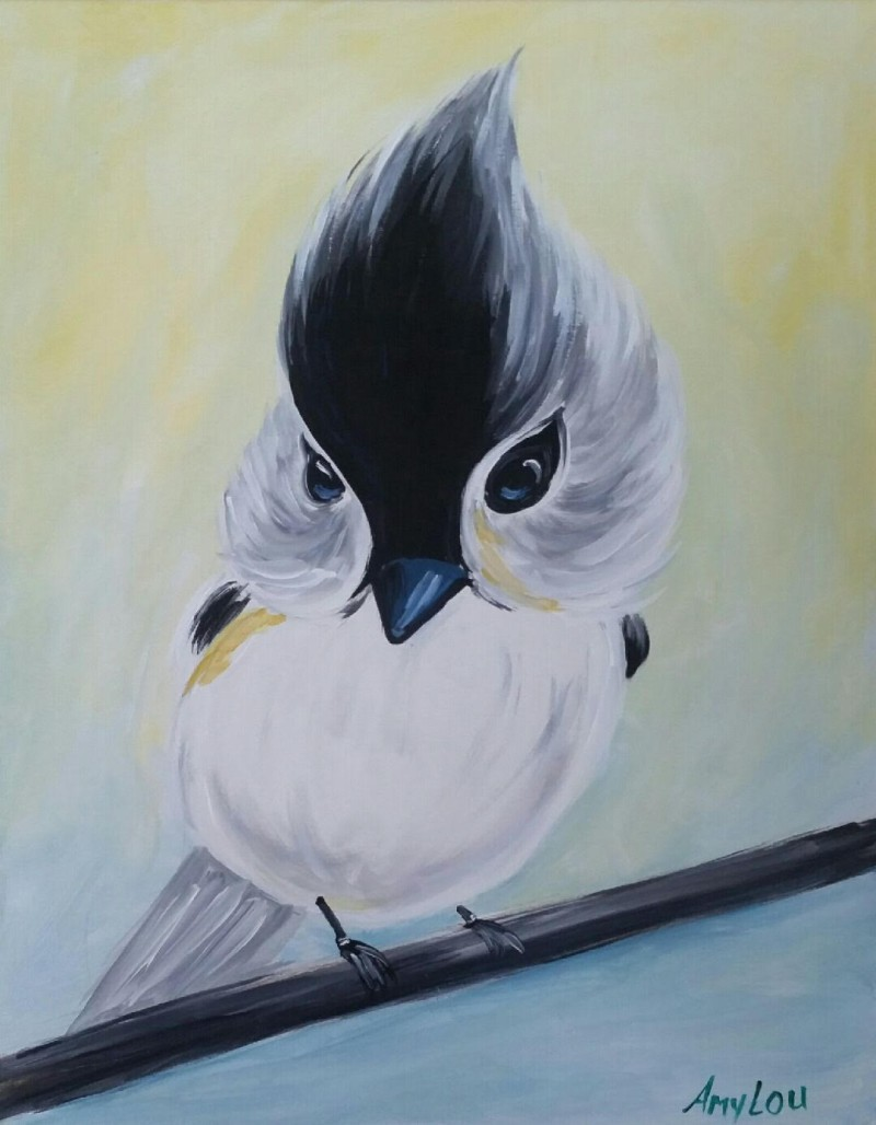 TIMMY THE BIRD | VIRTUAL PAINT CLASS WITH PAINT KIT | 8:00PM EST | PAINT KIT PICK UP 7/17 2PM-5PM