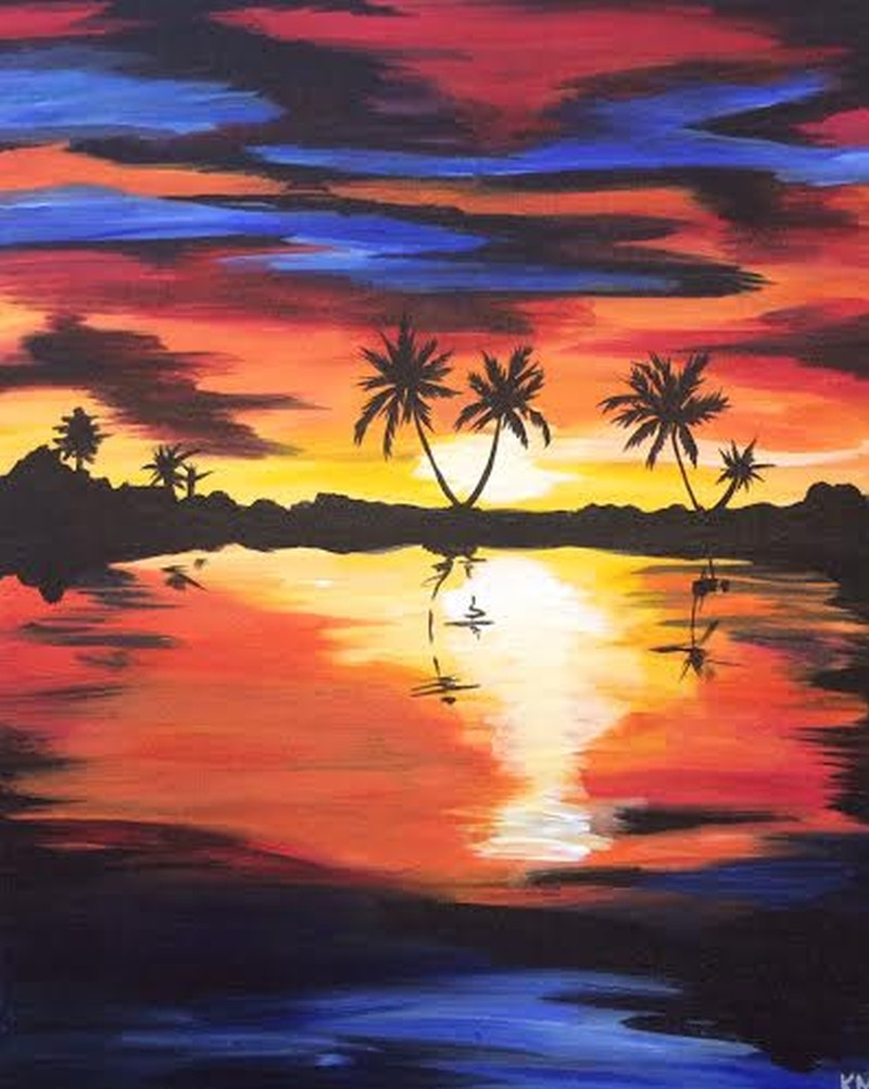 ON WHEELS @ BANDITOS Painting: Tropical Paradise 6pm-8pm