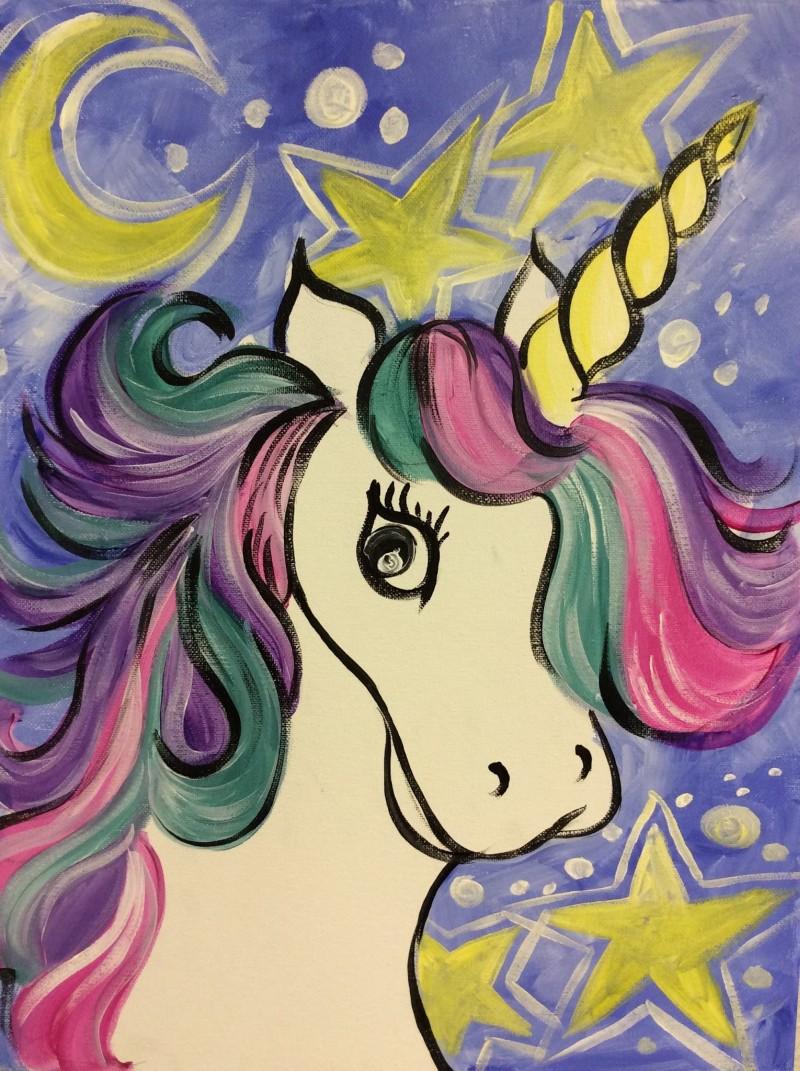 LIVE Virtual Class: Kiddo Sassy Unicorn