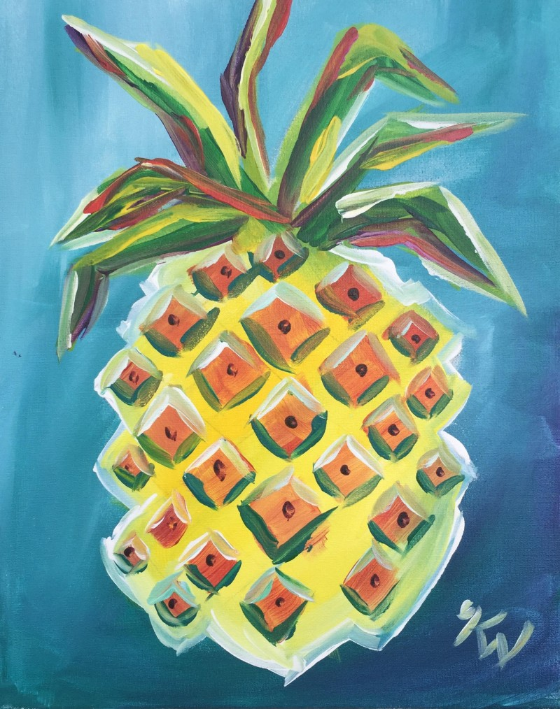 HAPPY HOUR Funky Pineapple!!