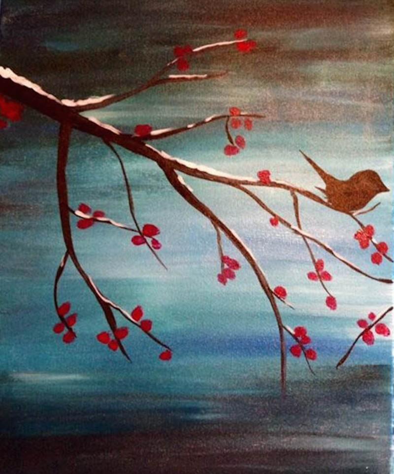 Winter Birdie