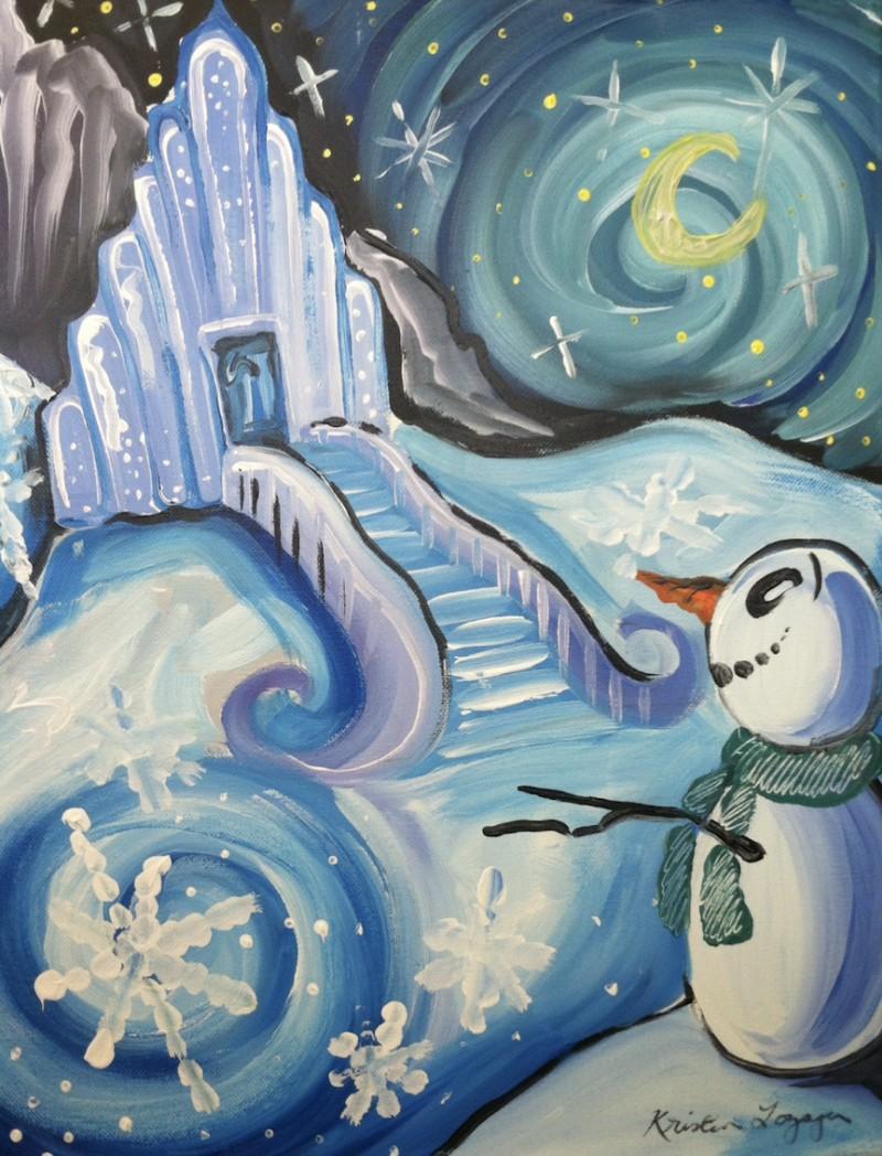 In Studio   ABK Snow Castle