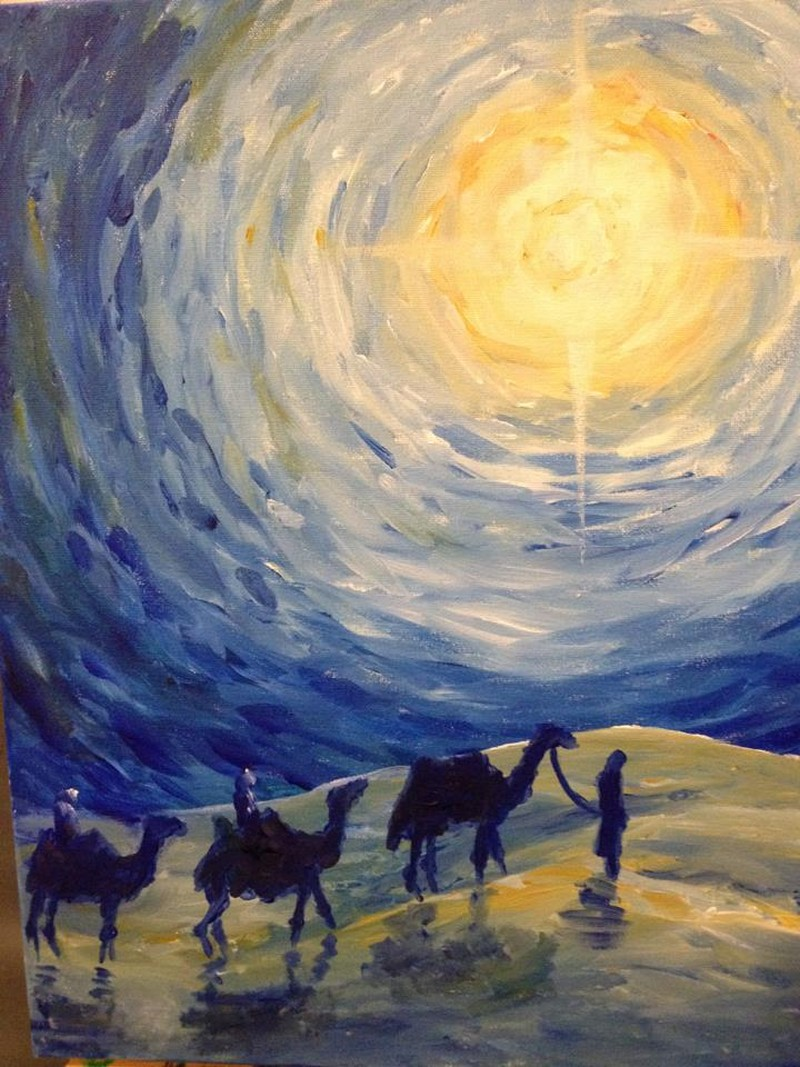 ZOOM   Wise Men Starry Night