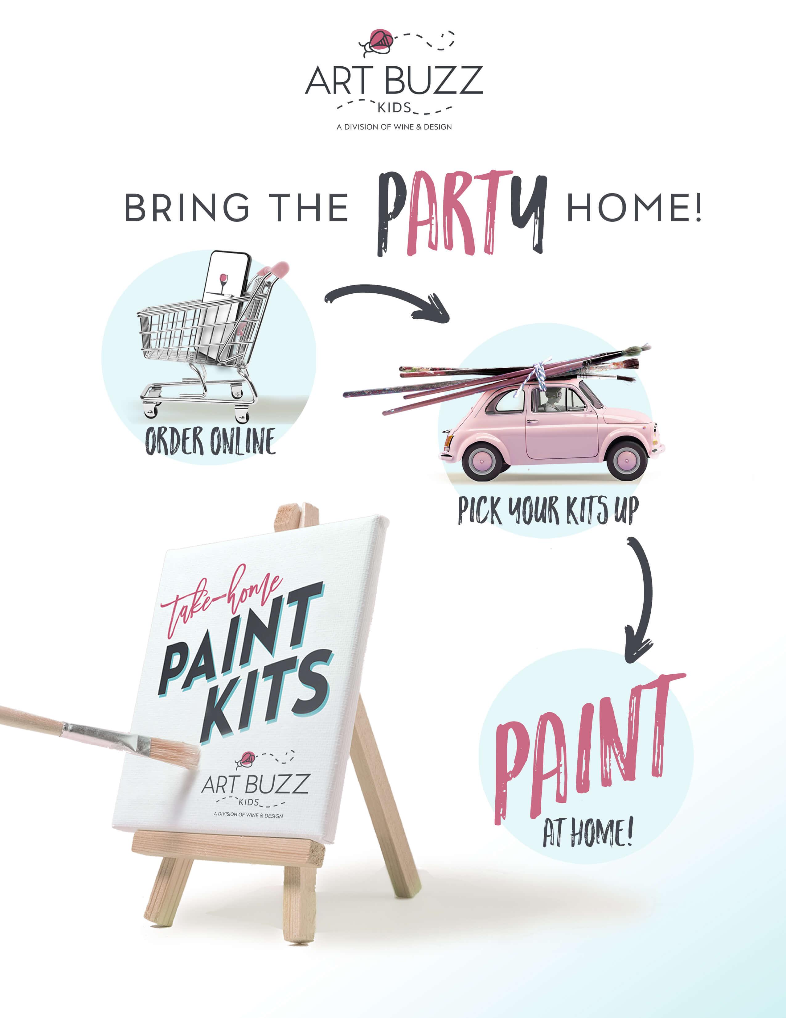 Art Buzz Kids Paint Kit