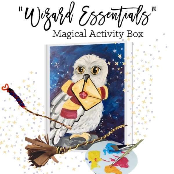 Wizard Essentials Art Buzz Kids Magical Activity Kit!