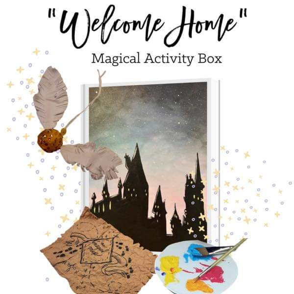 Welcome Home Magical Activity Kit!
