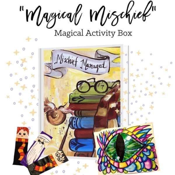 MAGICAL MISCHIEF ART BUZZ KIDS MAGICAL ACTIVITY KIT!