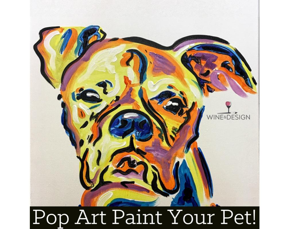 Pop Art Your Pet Paint Kit