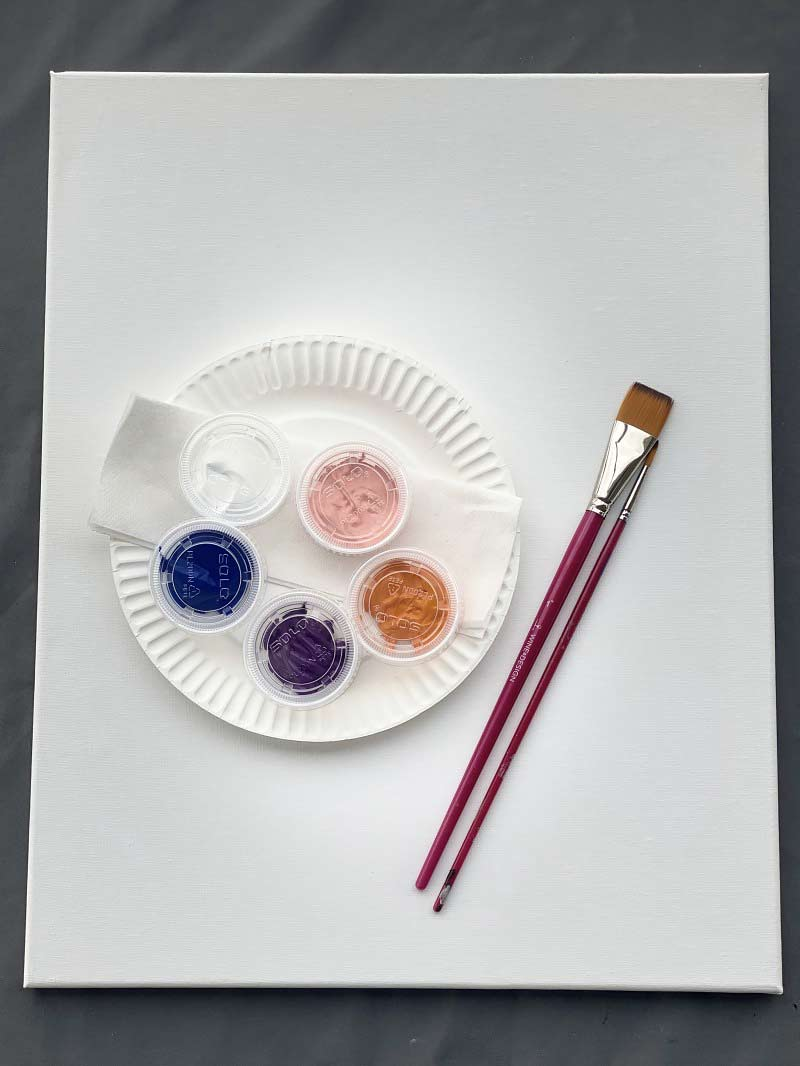 Blank Canvas Take-Home Paint Kit