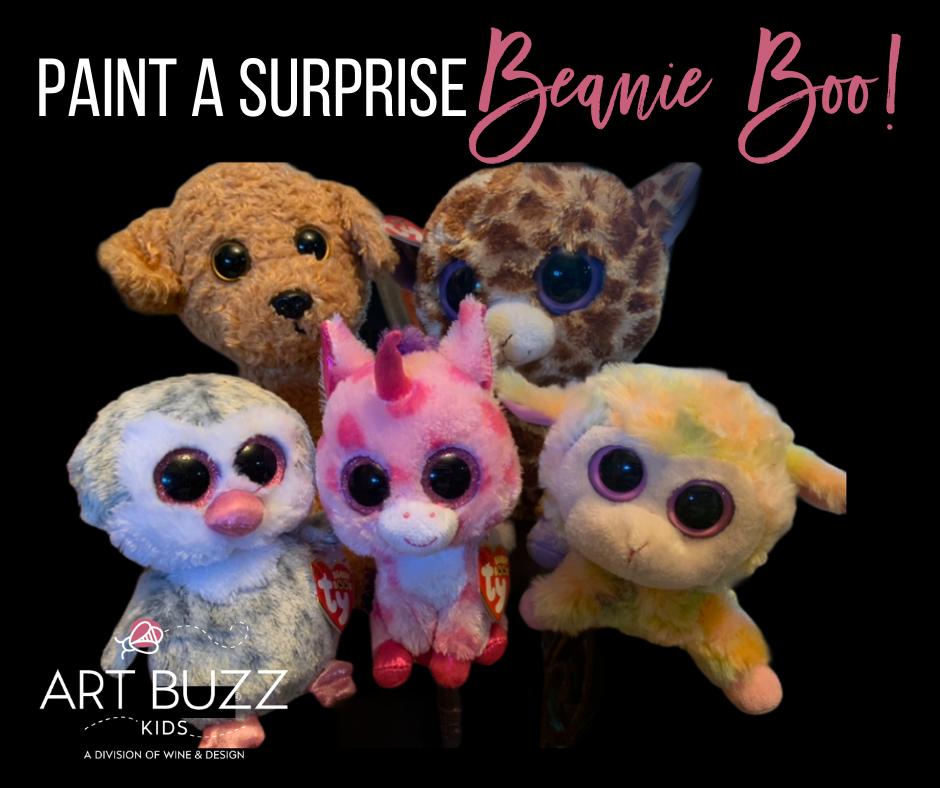 Paint a Beanie Boo!