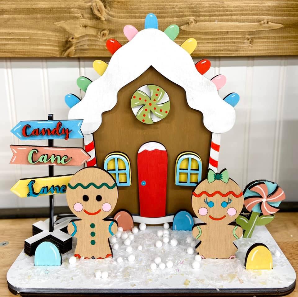 Gingerbread House Standup Take Home Kit