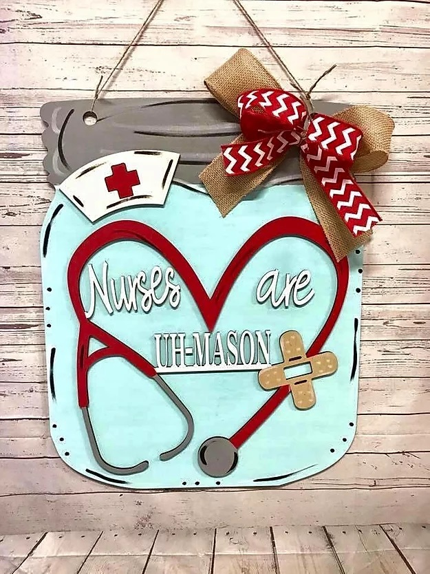Nurse Door Hanger