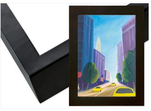 Black Gallery Wood Frame