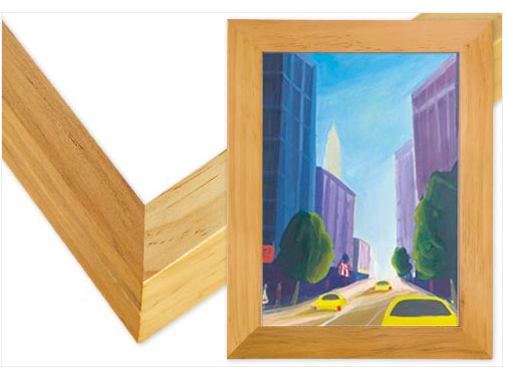Natural Gallery Wood Frame