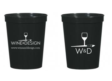 16 oz Wine & Design Stadium Cup