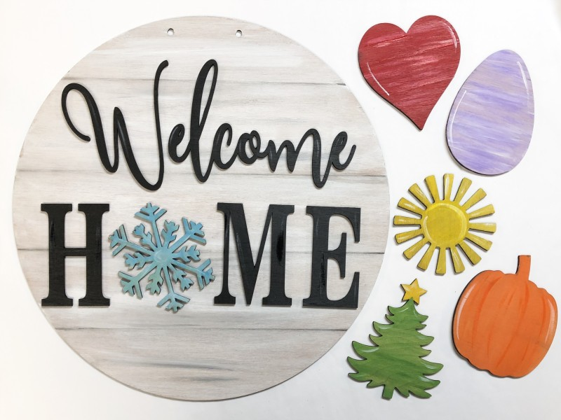 Interchangeable Welcome Home Kit