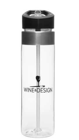 20 oz BPA-free Water Bottle with straw