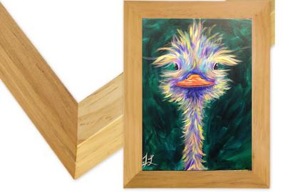16x20 Natural Wood Frame