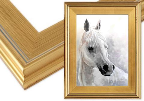 16x20 Gold Plein Aire Frame