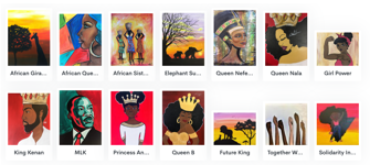 Black History Month Featured Paint Kits