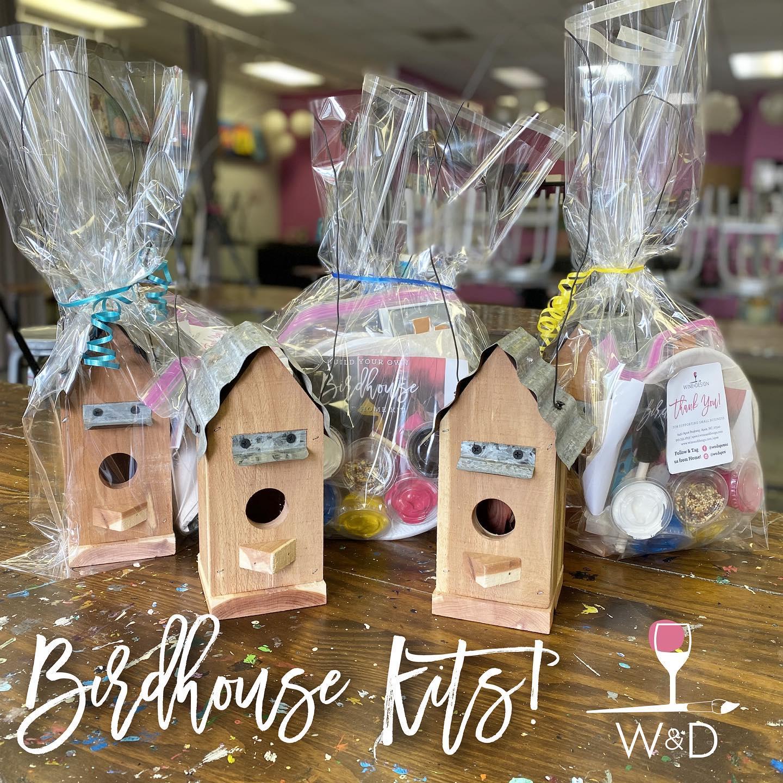 Birdhouse Take Home Kit