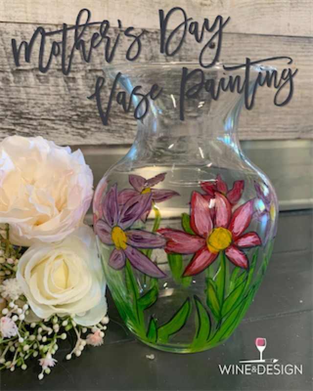 Mother's Day Vase Painting Take-Home Kit