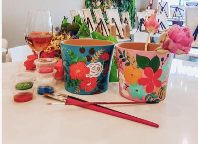 Nurture & Bloom DiY Flower Pot