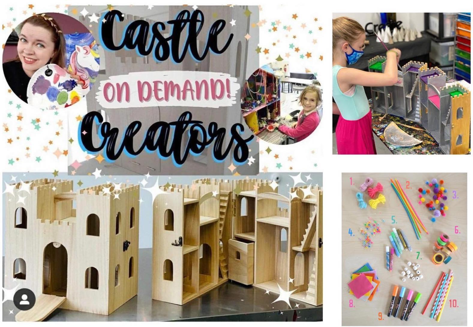 Castle Creators On-Demand Workshop and Kit
