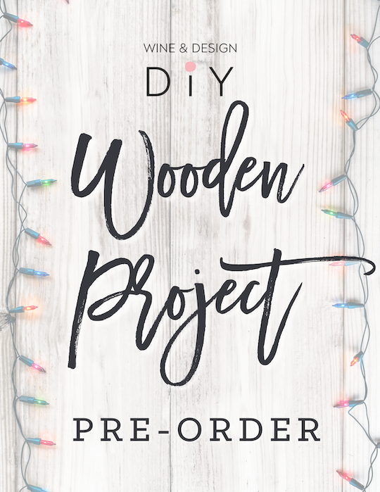 WINTER/HOLIDAY WOOD PROJECT PRE-ORDER
