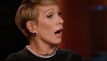 Barbara Corcoran and Wine & Design on Shark Tank