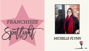 Wine & Design Studio Owner Michelle Flynn of Fredericksburg