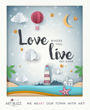 Love Where You Live Art Camp for Summer