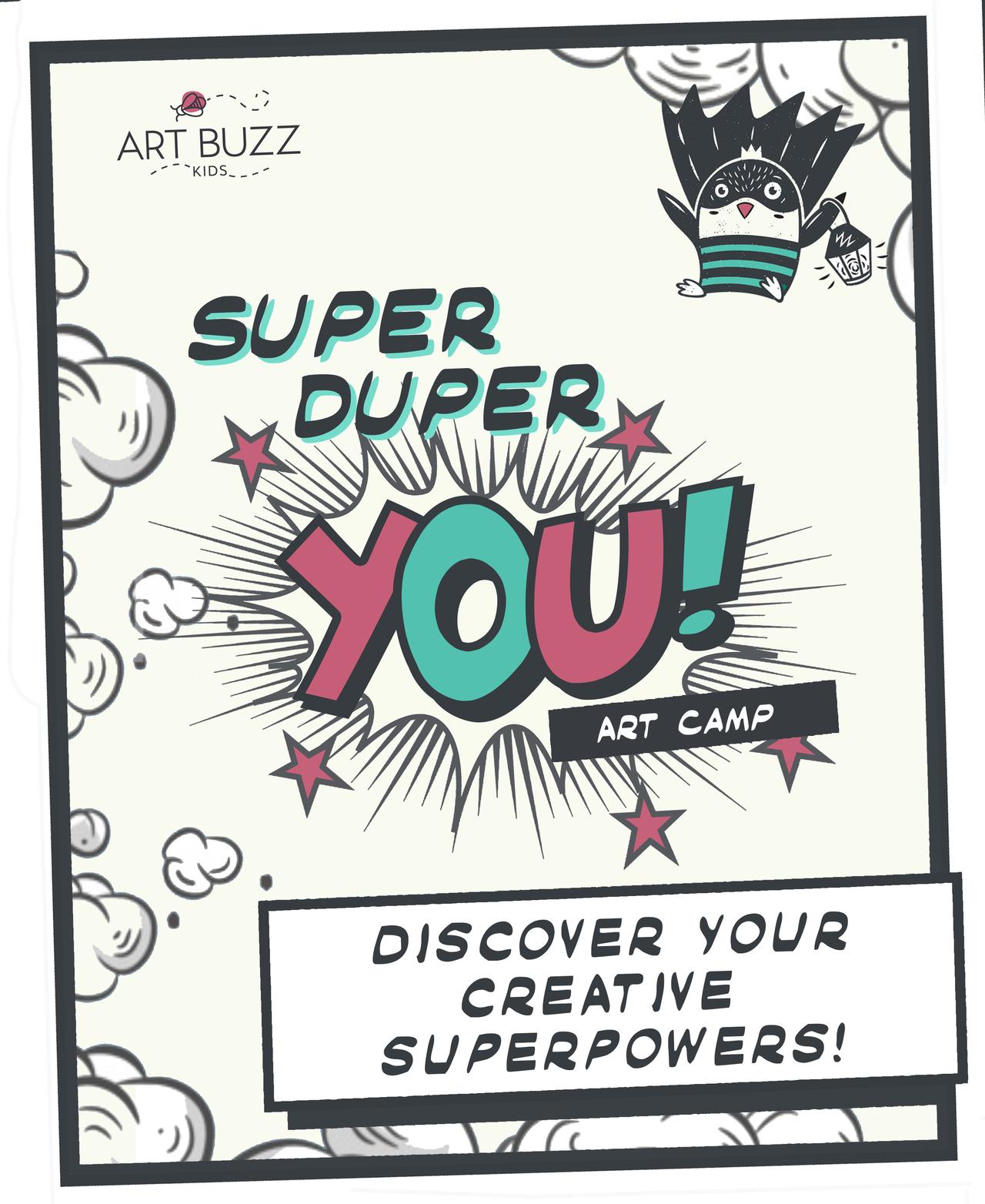 Super Duper You Summer Art Camp For Kids