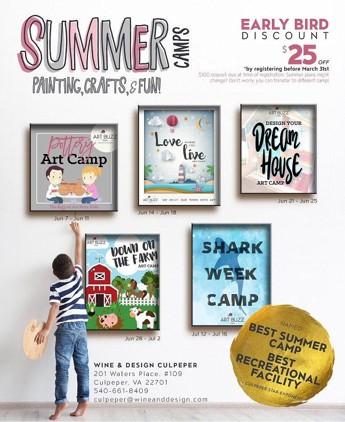 2021 Summer Art Camps
