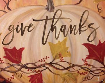 Wine & Design give thanks