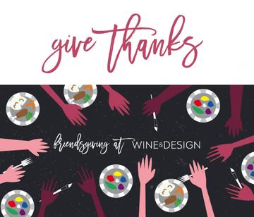 Wine & Design Friendsgiving