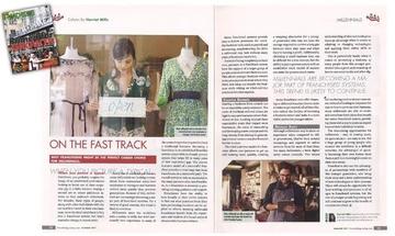 Wine & Design CEO Harriet Mills in Franchising Today Magazine