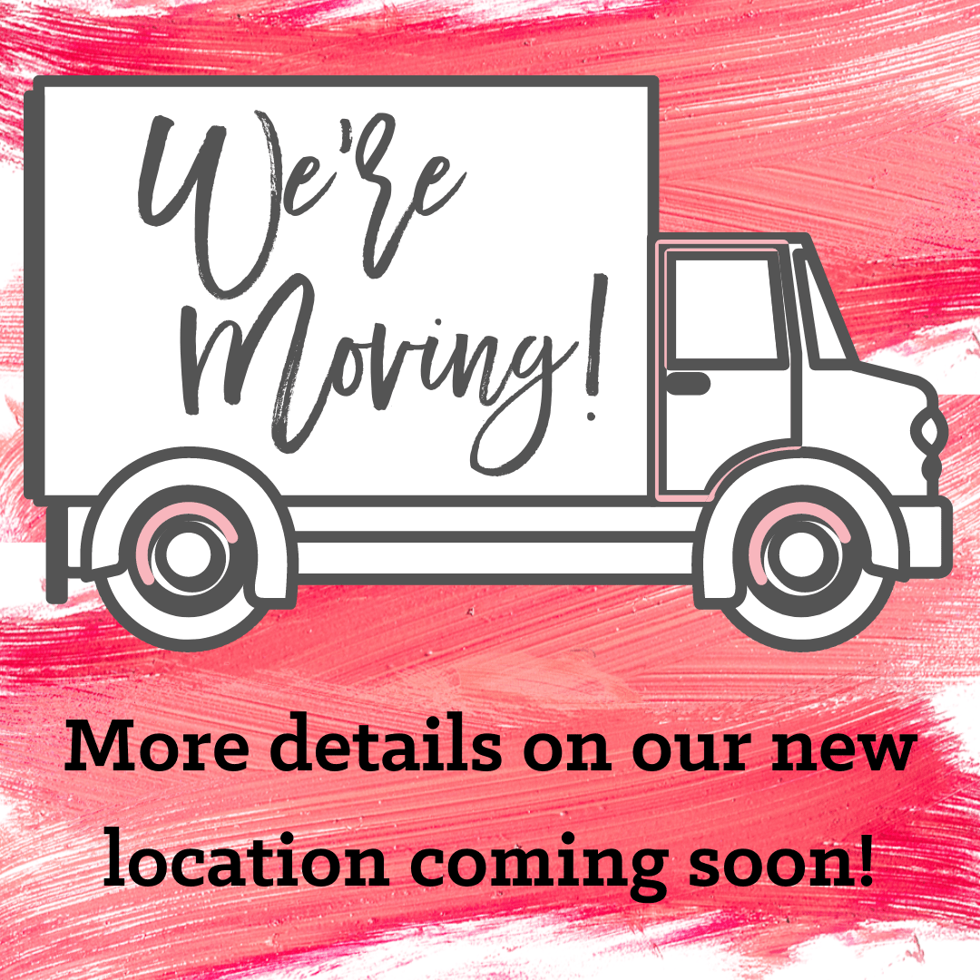 More details on our new location coming soon!